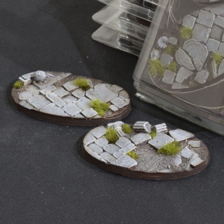 Temple Bases Oval 90mm