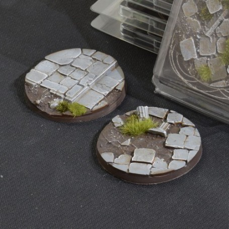 Temple Bases Round 60mm