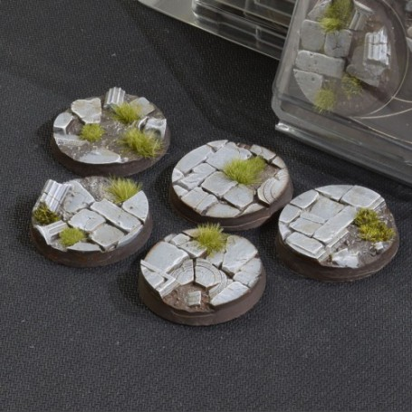 Temple Bases Round 40mm