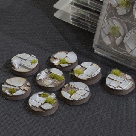 Temple Bases Round 32mm