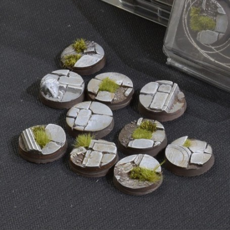 Temple Bases Round 25mm