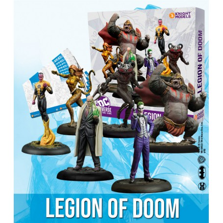 DC UNIVERSE LEGION OF DOOM V2