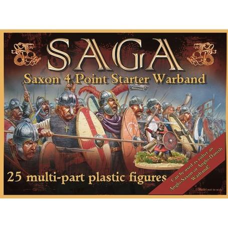 Boîte de bande Saxons ou Anglo-danois en plastique (4 points)