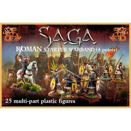 Boîte de bande Romains en plastique (4 points)