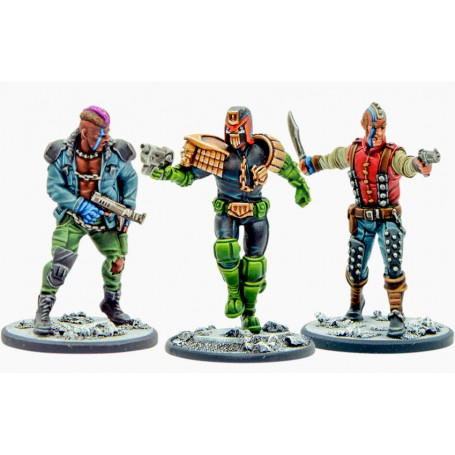 Judge Dredd Preview Pack