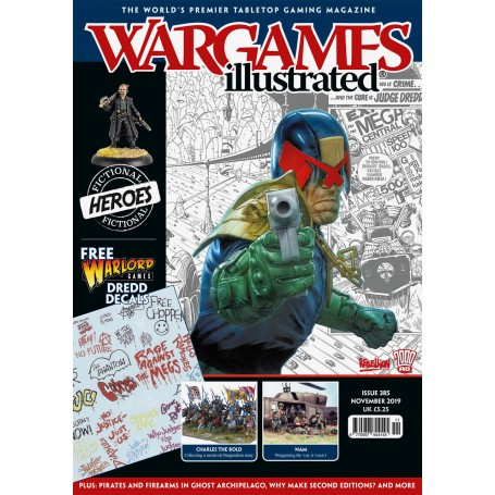 Wargames Illustrated Nov 2019 Edition (With FREE sheet)