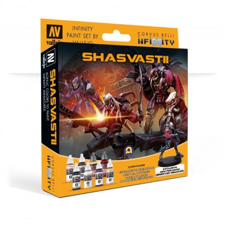 Model Color Set: Shasvastii Exclusive Miniature