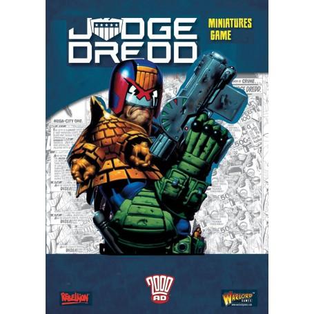 Judge Dredd Rulebook + Exclusive Dredd vs Death