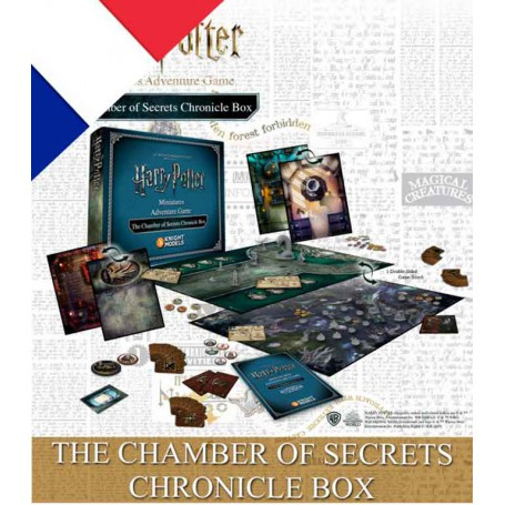 THE CHAMBER OF SECRET CHONICLE BOX (FR) + Aragog OFFERTE