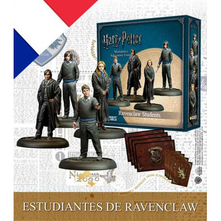 Harry Potter - Ravenclaw Students (bilingue EN/FR)