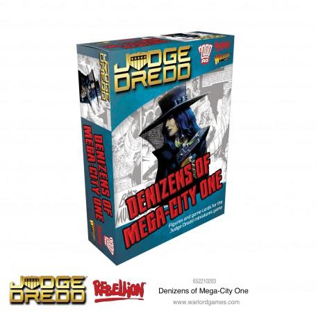 Judge Dredd Denizens of Mega City 1