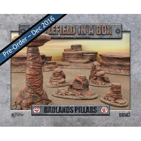 Badlands Pillars - Mars (x5) - 30mm