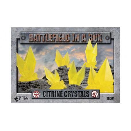 Battlefields - Citrine Crystals