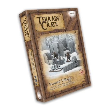 Terrain Crate: Ruined Village