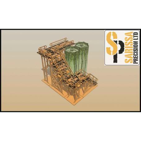 Silo / Gantry Scenery Set