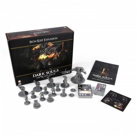 Dark Souls™: The Board Game - Iron Keep Expansion FR