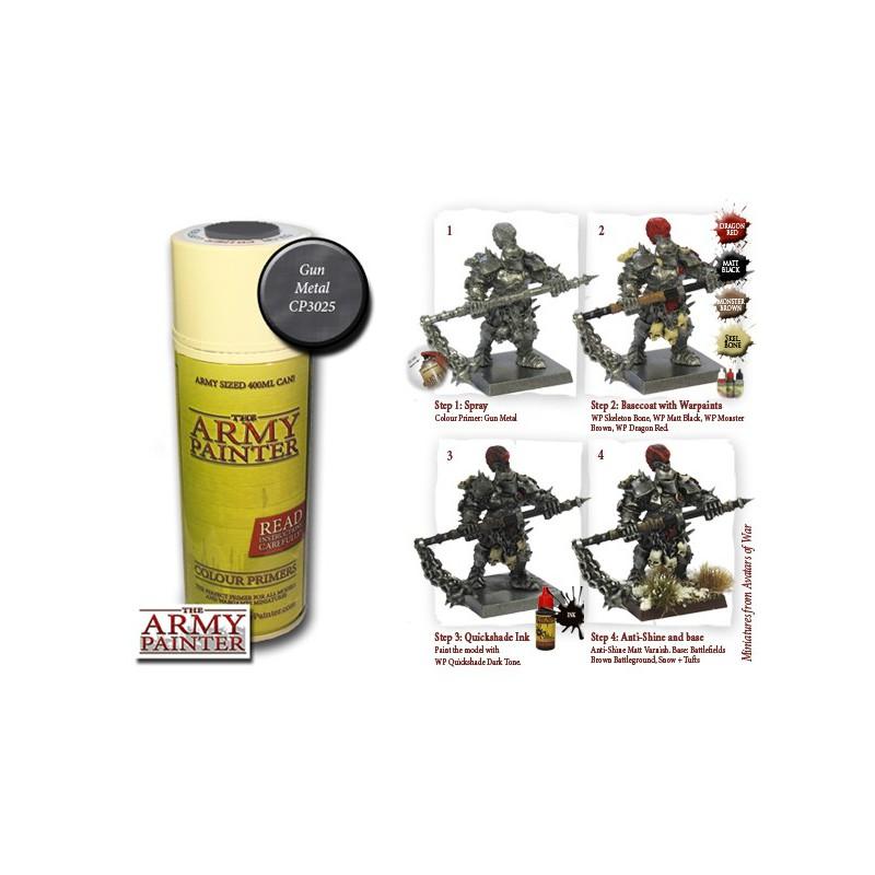 Gun Metal, Bombe de couleur, Army Painter