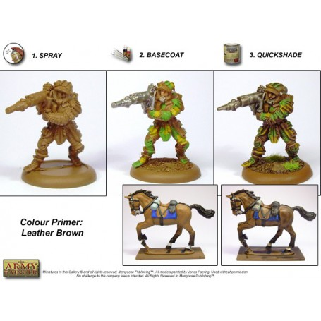 Leather Brown, Bombe de couleur, Army Painter