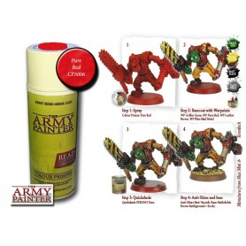 Pure Red, Bombe De Couleur, Army Painter