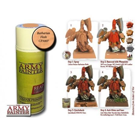 Barbarian Flesh, Bombe de couleur, Army Painter