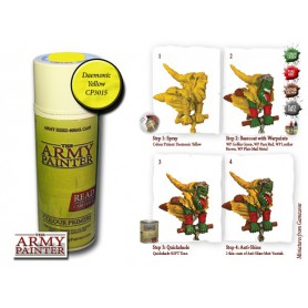 Daemonic Yellow, Bombe De Couleur, Army Painter