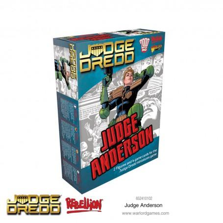 Judge Dredd Judge Anderson