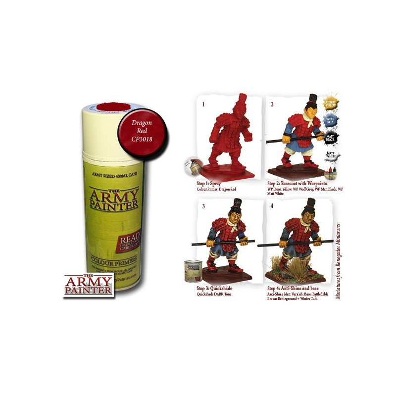 Dragon Red, Bombe de couleur, Army Painter