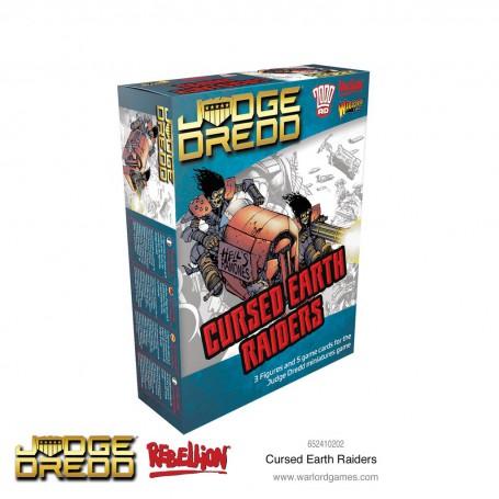 Judge Dredd Cursed Earth Raiders