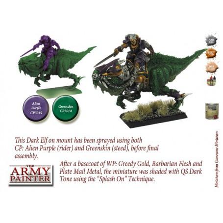 Alien Purple, Bombe de couleur, Army Painter