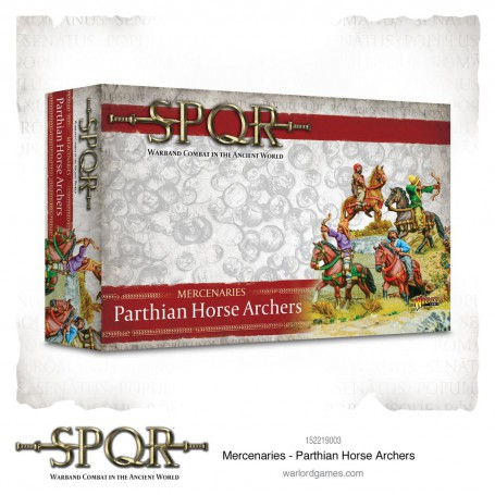 SPQR: Mercenaries Parthian Horse Archers
