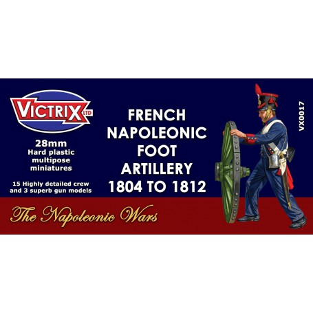 Victrix Napoleonic French Artillery 1804-1812