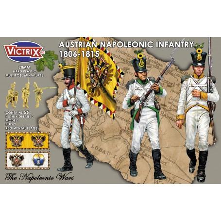 Victrix Austrian Napoleonic Infantry in shakos