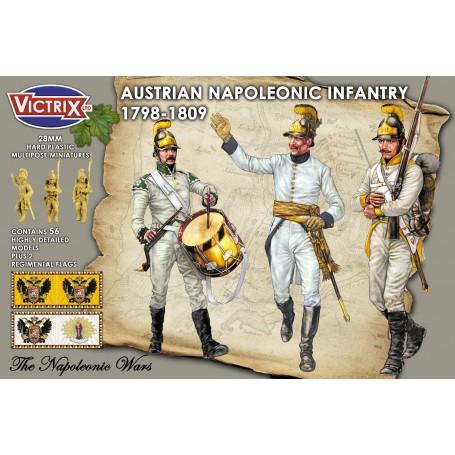 Victrix Austrian Napoleonic Infantry in helmets
