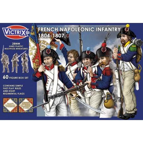 Victrix French Napoleonic Infantry 1804-1807
