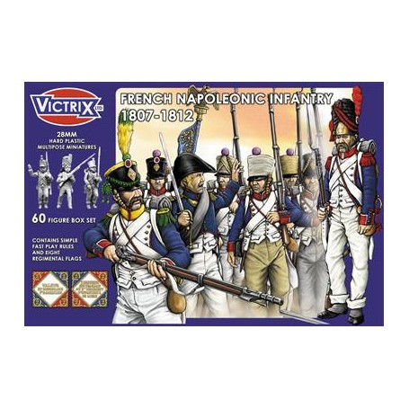Victrix  French Napoleonic Infantry 1807-1812