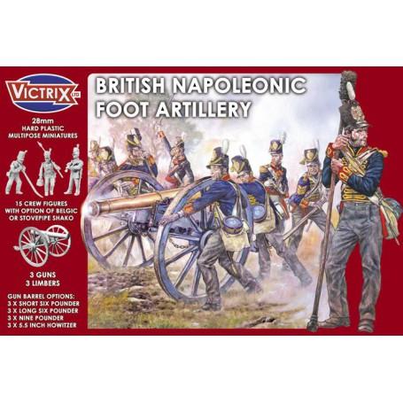 Victrix British Napoleonic Foot Artillery