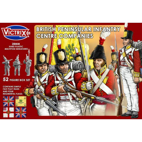 Victrix British Peninsular Infantry Centre Companies