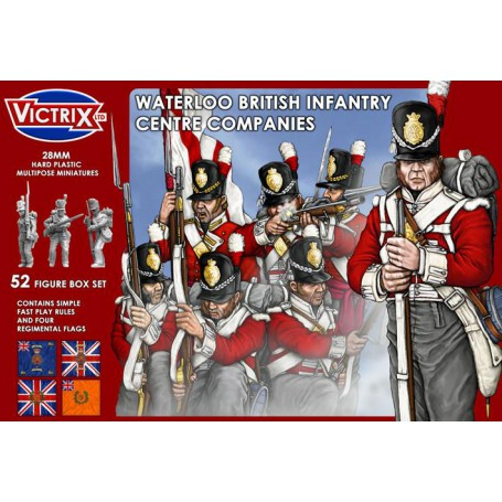 Victrix Waterloo British Infantry Centre Companies
