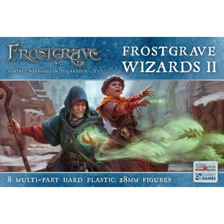 Frostgrave Wizards II (8 figurines)