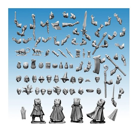 1x Grappe Frostgrave Wizards female