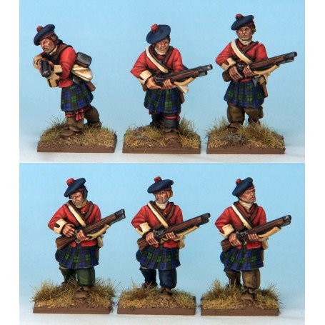 M&T Highlander Light Infantry (6 figs)