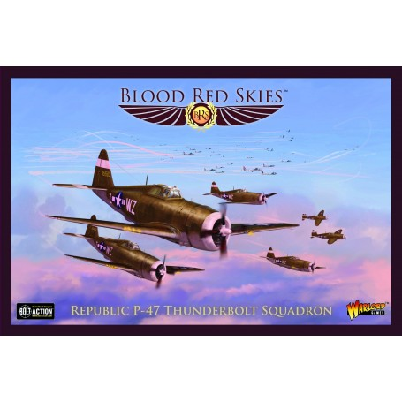 Blood Red Skies : Republic P-47 Thunderbolt Squadron