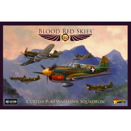Blood Red Skies : Curtiss P-40 Warhawk Squadron