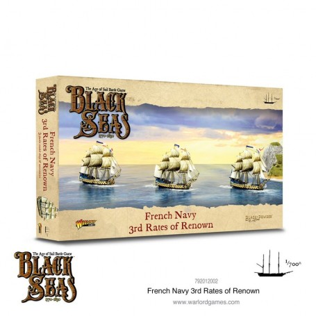 Black Seas: French navy 3rd rate of renown