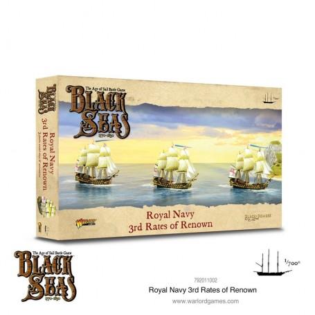Black Seas: Royal Navy 3rd rate of renown