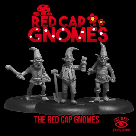 Red Cap Gnomes