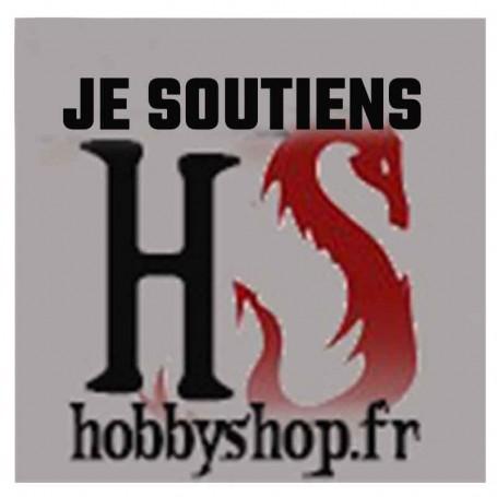 JE soutiens HOBBY SHOP 1 euros