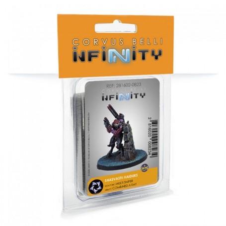 INfinity - Shasvastii Haiduks (multi sniper)