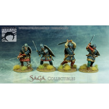 Crusader Hearthguard With Great Weapons (4)