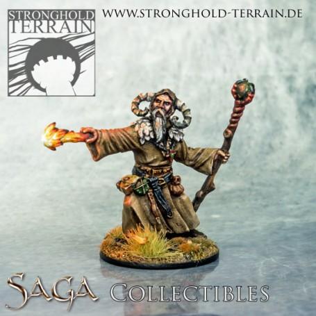 Sorcerer With 3 Alternative Heads